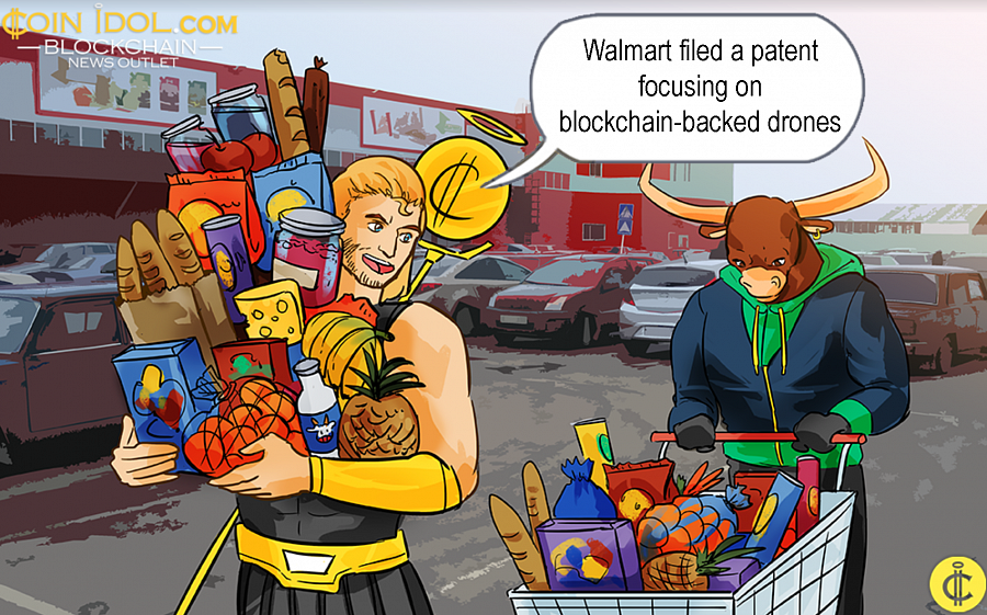 "In the first month of this year, Walmart filed for an application that was dubbed ""Cloning Drones Using DLT"" with the US Patent & Trademark Office issuing the patent at the beginning of this month."