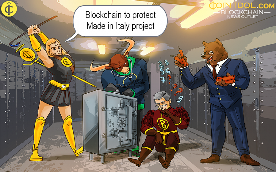 The meeting on the Pilot Project to accelerate the use of Blockchain for the protection of Made in Italy will be conducted from Parlamentino hall of the MISE.
