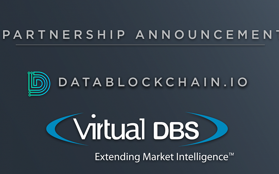 Partnership between DataBlockChain.io and Virtual DBS