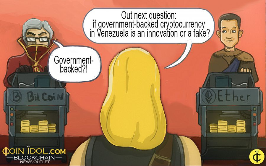 Venezuela issues government-backed cryptocurrency