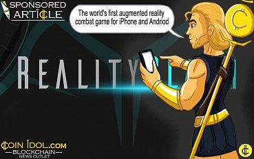 Mobile Ar Game Reality Clash Announces Token Sale With Erc-20 Armory