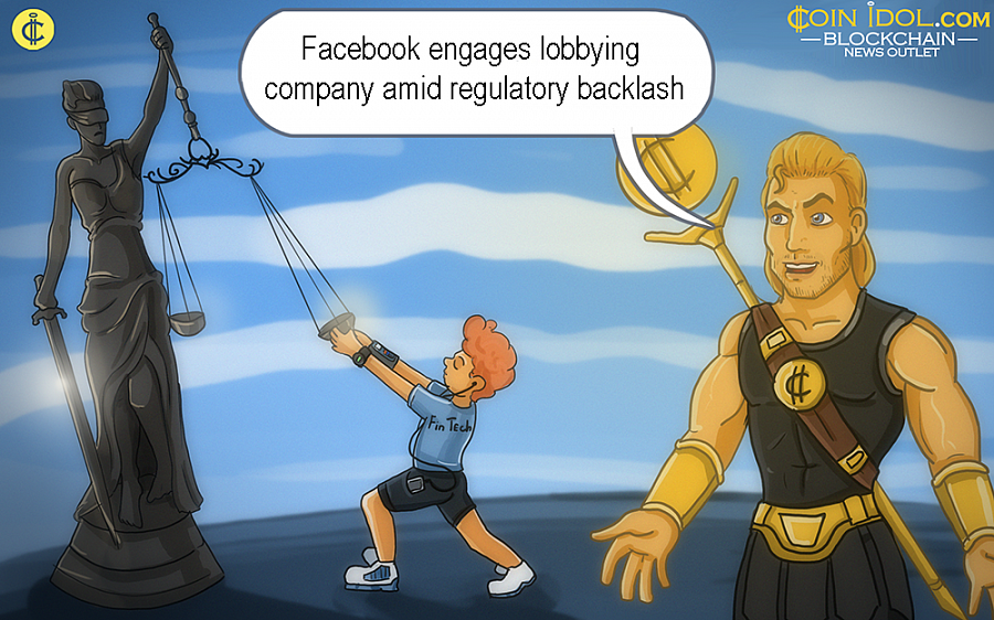 The lobbying registration files submitted in Congress reveal that in August, Facebook hired an advisory & consulting firm that was founded last year called FS Vector to help it on major concerns connected to blockchain policy.