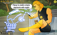 A Groundbreaking Mobile App Elipay to Enable Simple Payments with Crypto for Everyone
