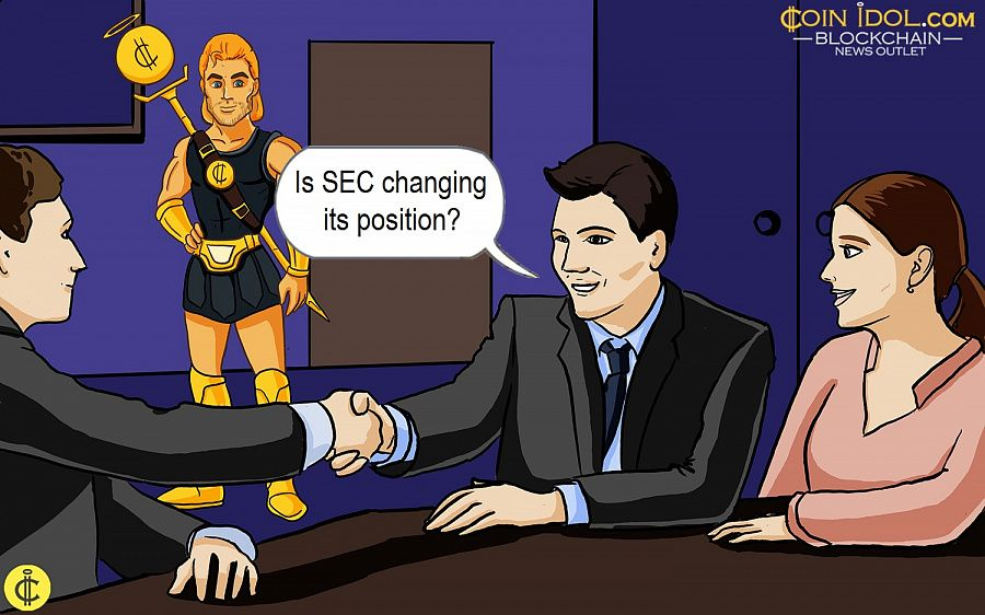 Is SEC changing its position?