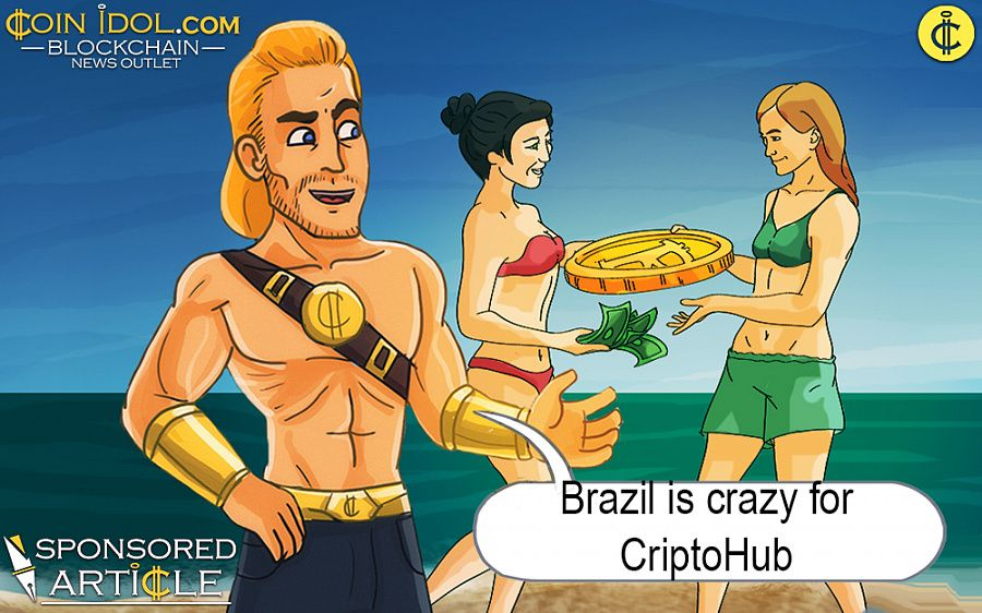 Brazil is crazy for CriptoHub