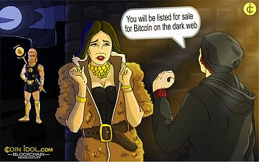 Model Kidnapped and Listed for Sale for Bitcoin On The Dark Web