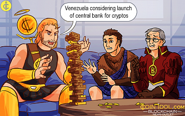 Venezuela Considering Launch of Central Bank for Cryptos, Constitutional Amendment Underway