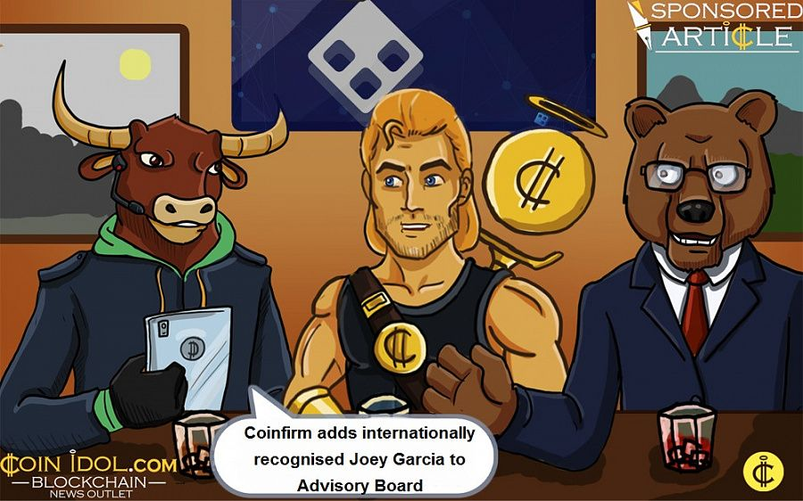 Coinfirm adds Joey Garcia to Advisory Board
