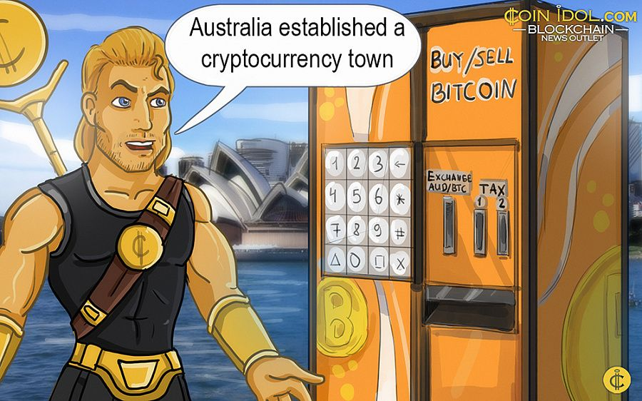 Australian cryptocurrency town