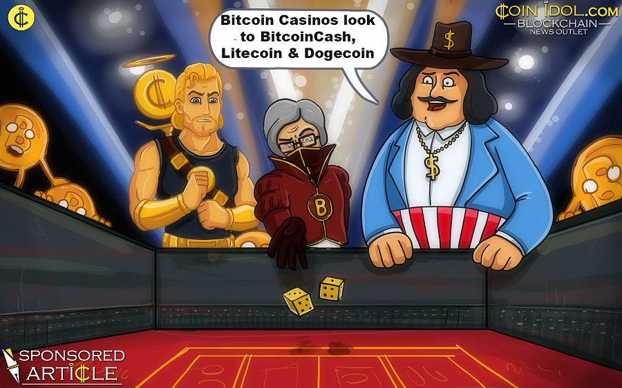 Bitcoin casinos look to BitcoinCash