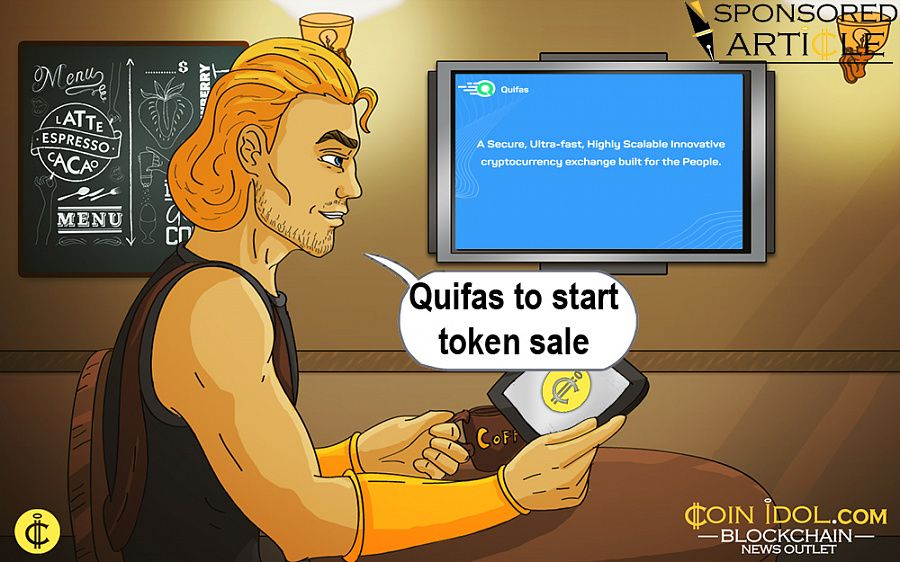 Quifas to start token sale