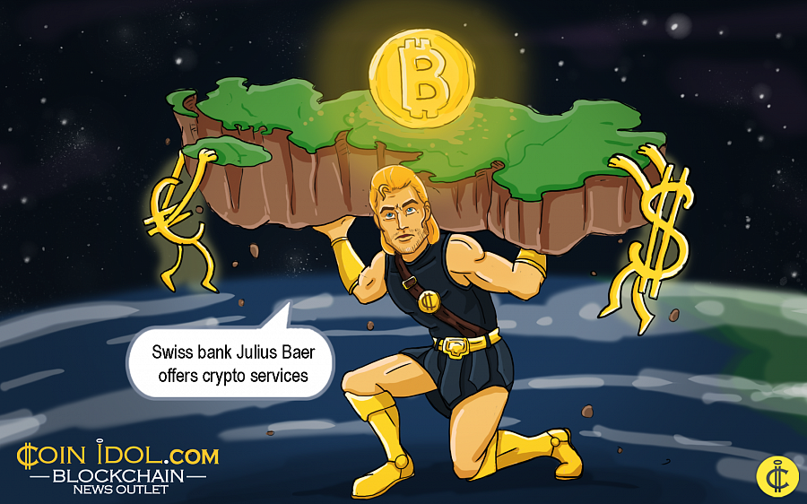 Julius Baer bank declared on February 26 that it would provide cryptocurrency services to all esteemed customers across the globe.