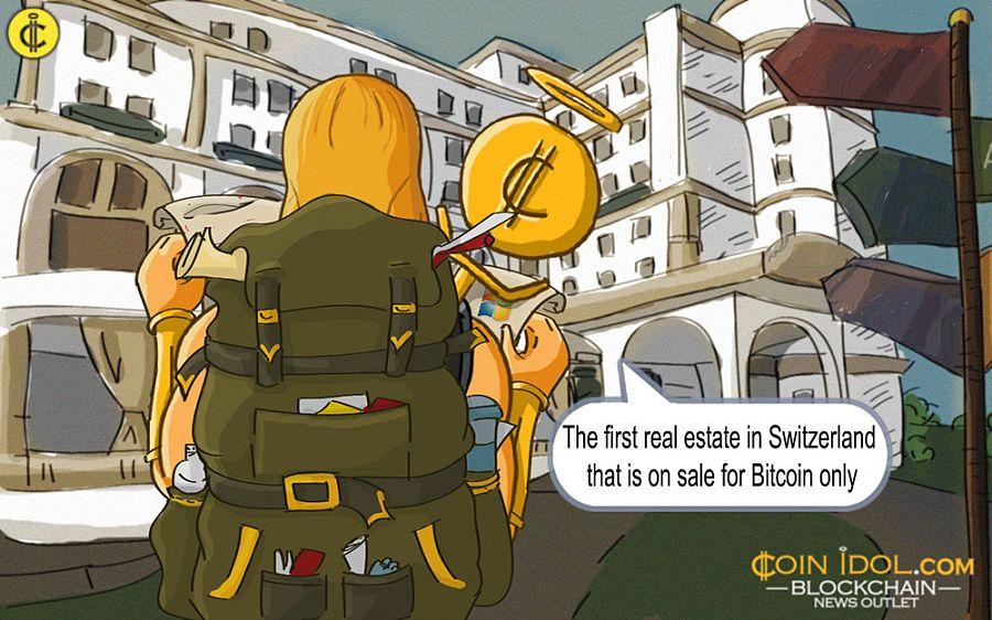 Real Estate Switzerland Sale Bitcoin