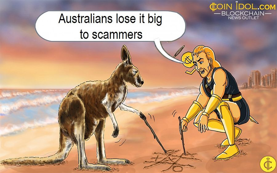 Australians lose it big to scammers