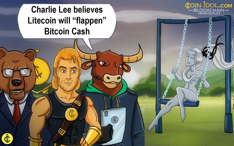"Charlie Lee believes litecoin will ""flappen"" Bitcoin Cash"