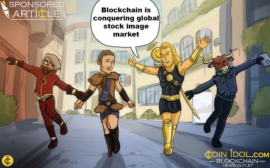 Blockchain is conquering stock image market