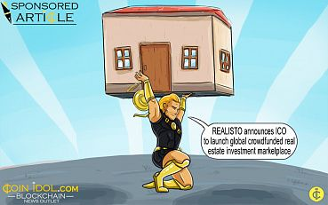 REALISTO Announces ICO to Launch Global Crowdfunded Real Estate Investment Marketplace