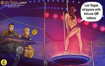 Entering New Age: Las Vegas Strippers with Bitcoin QR Tattoos