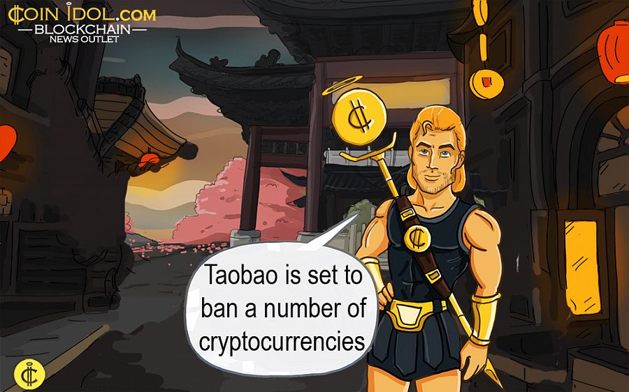 Taobao to ban cryptocurrencies