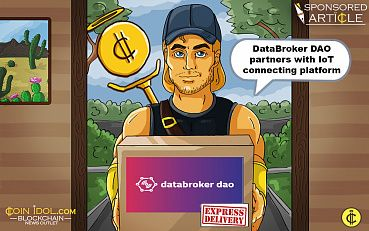 DataBroker DAO, Leader In Data Exchange Field Lists Token And Partners with IoT Connecting Platform