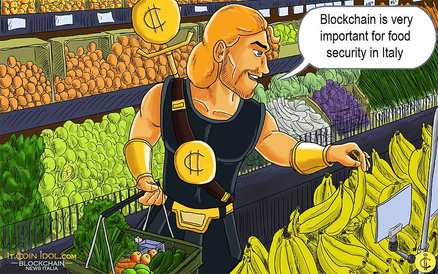 Blockchain is very important for food security in Italy