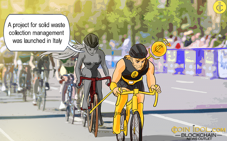 The company plans to roll out new blockchain related technologies in the coming two years, especially those targeting at creating solutions towards solid waste management in Italy and Europe at large.