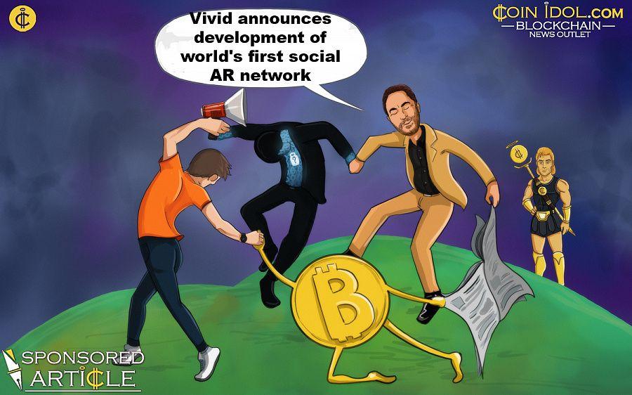 Vivid announces social AR network