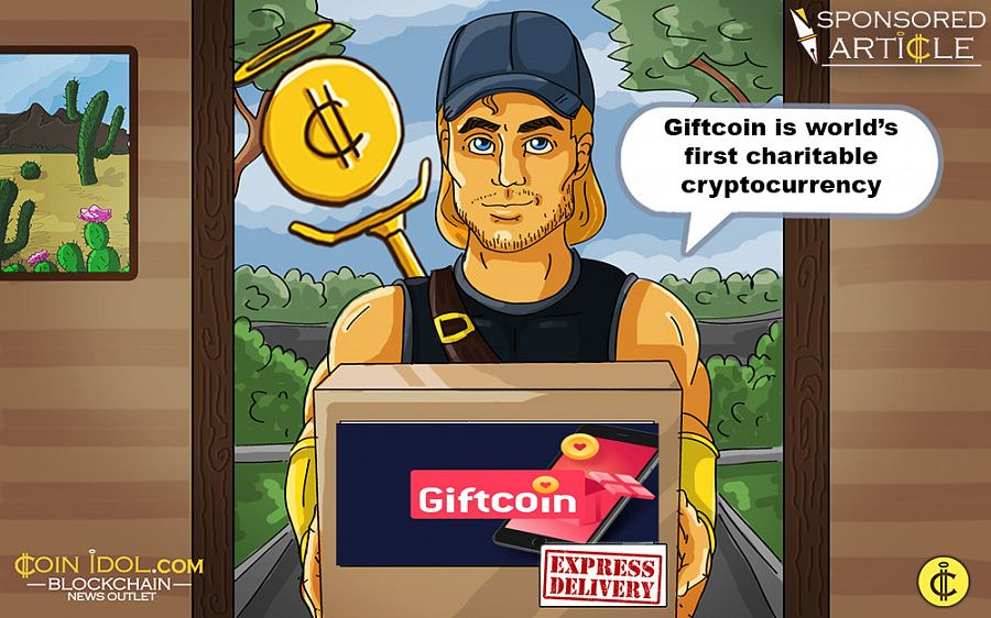 Giftcoin is world's first charitable cryptocurrency