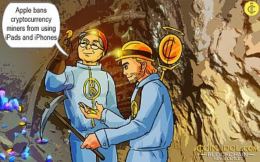 Security Guarantee: Apple Finally Bans Cryptocurrency Miners from Using iPads and iPhones