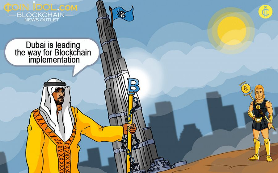 Dubai is actively implementing blockchain technology - is it only cat talk or could the plans actually to come to life?