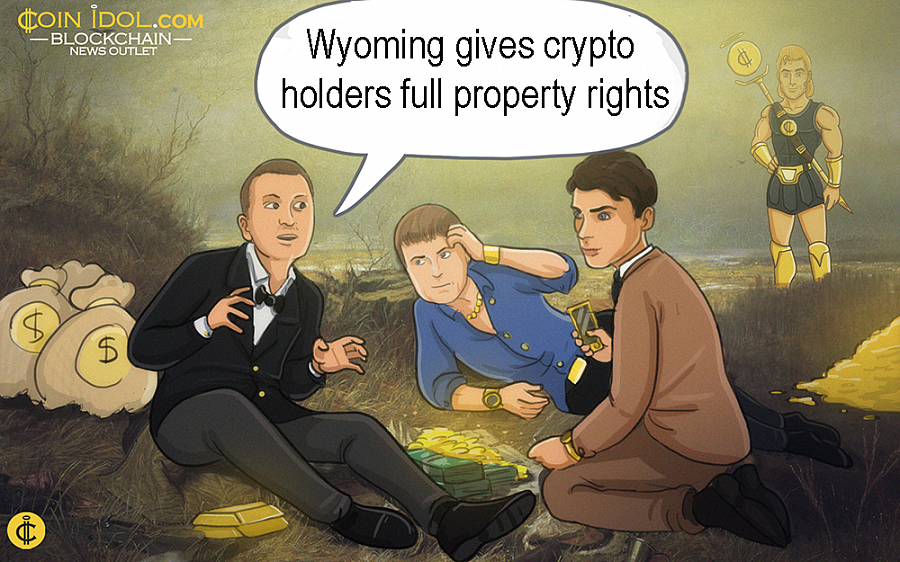 Wyoming is now the first U.S. state to give authority and direct property rights to all crypto owners.