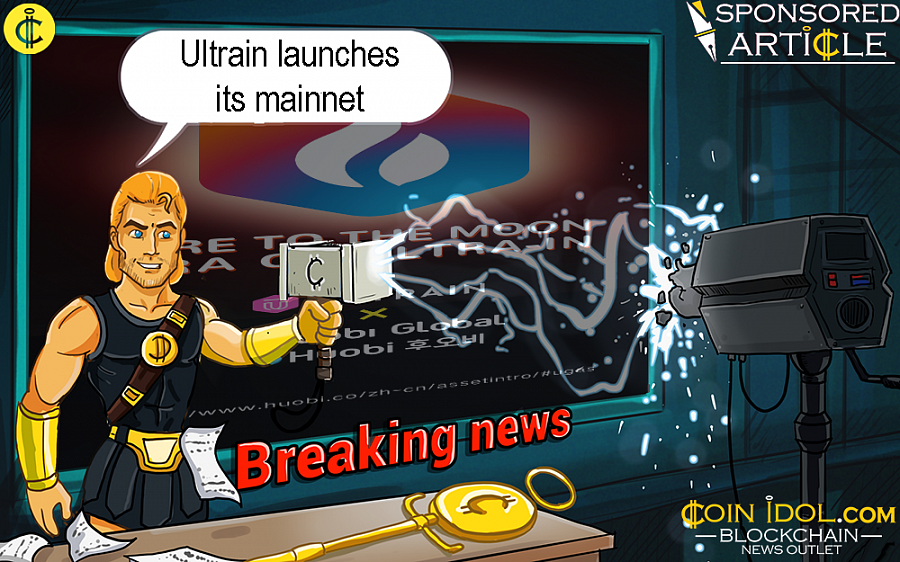 This achievement makes  Ultrain the first blockchain 3.0 project to launch an operational mainnet.