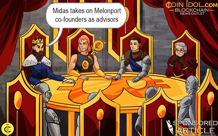 Midas takes on Melonport co-founders