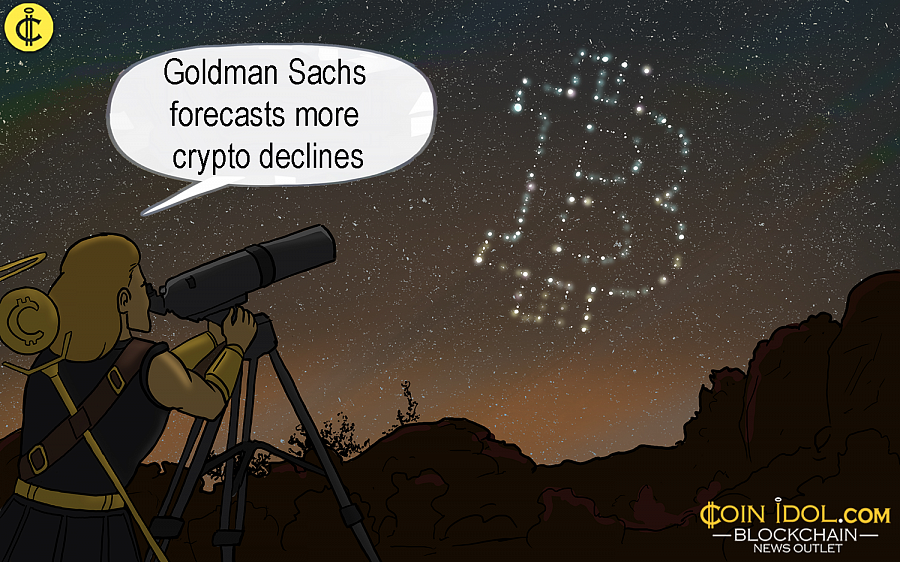 Still and all, the Goldman Sachs 2018 mid-year economic outlook report alludes Bitcoin will go on moving down for an anticipatable future.