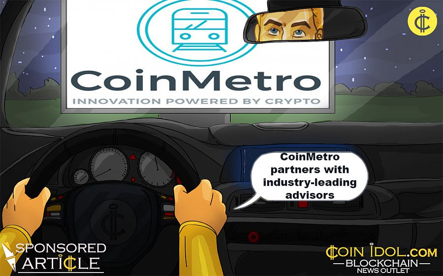 CoinMetro partners with industry-leading advisors