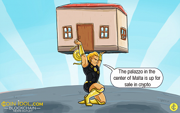 A Luxurious Palazzo in Malta is Available for Purchase via Crypto
