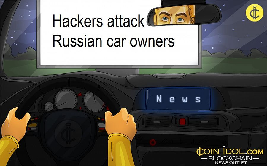 Hackers attack Russian car owners