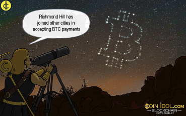 Canada: Richmond Hill Now Accepts Bitcoin Tax Payments
