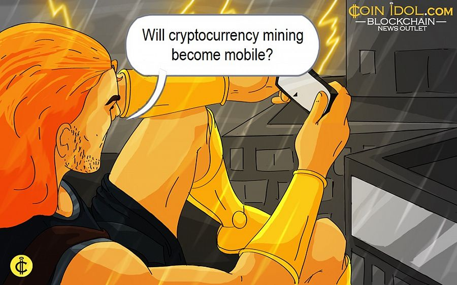 Will cryptocurrency mining become mobile?