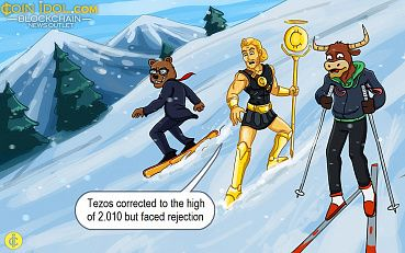 Tezos Risks Further Selling Pressure After Rejection at $2.0