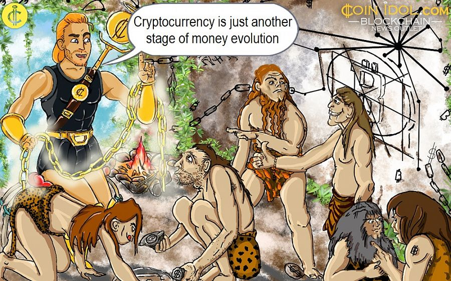Cryptocurrency is just another stage of money evolution