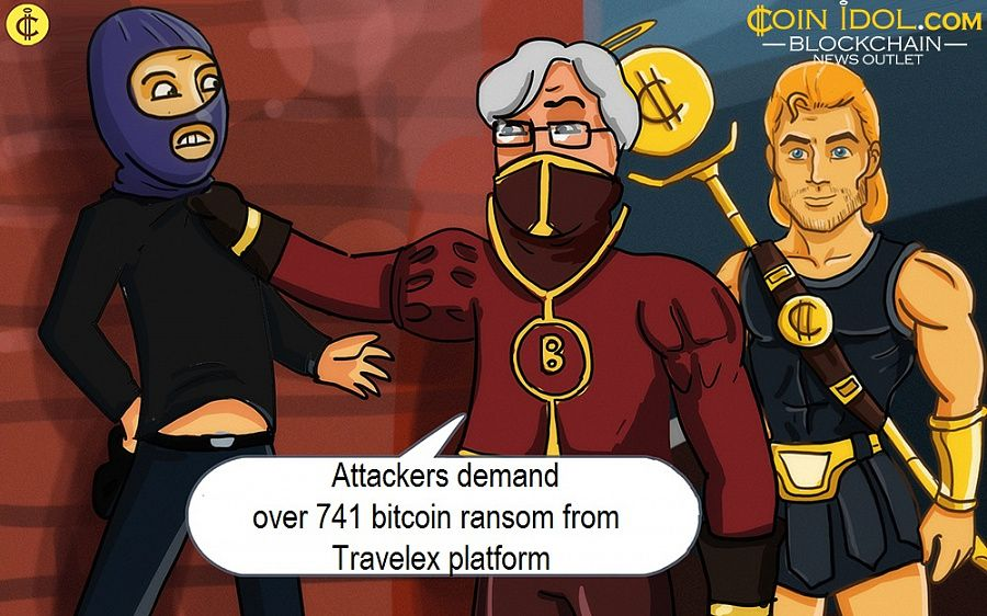 Attackers demand over 741 bitcoin ransom from Travelex platform