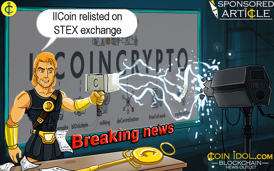 The innovative cryptocurrency company, IlCoin, would like to announce its resumption of trading activity on STEX, a leading cryptocurrency exchange.