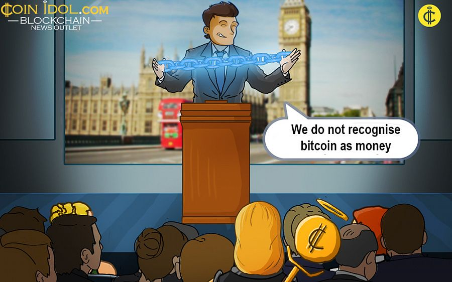 UK rejects bitcoin