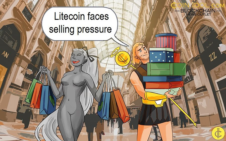 Litecoin faces selling pressure