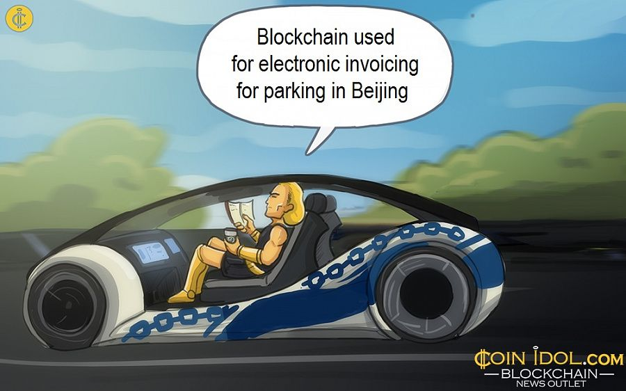 Blockchain used for electronic invoicing for parking in Beijing