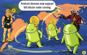 Android Devices Now Support Full Bitcoin Node Running