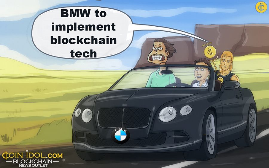 BMW to implement blockchain tech