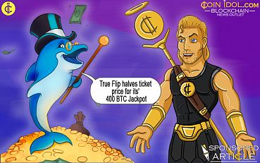 True Flip Halves Ticket Price For Its' 400 BTC Jackpot