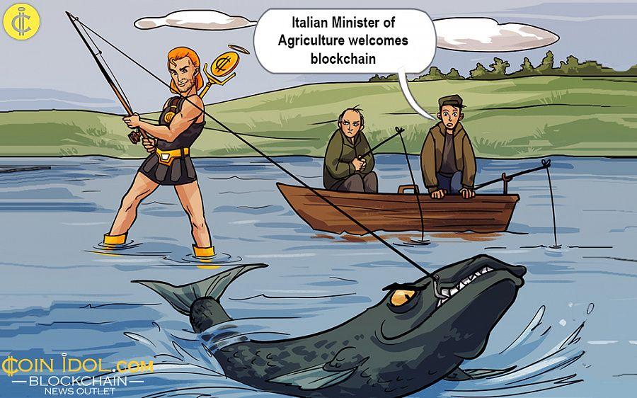 Italian minister uses blockchain